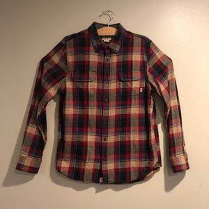 Vans Plaid button up Flannel Classic Fit